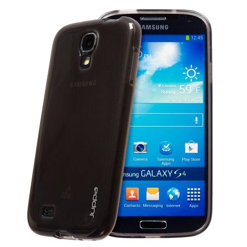 Juppa® Samsung Galaxy S4 GT-I9500 TPU Silicone TPU Coque avec Film de Protection Ecran - Noir