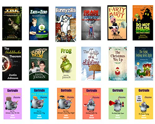 Books for Kids: 18 Full Length Books for Kids Ages 8-12: Kids Chapter Book, Kids Fantasy Book, Kids Mystery Book, Kids Funny Book, Kids Free Stories, Kids Free Book, Ages 6-8, 7-9, 8-10, 9-12 (English Kids Books)