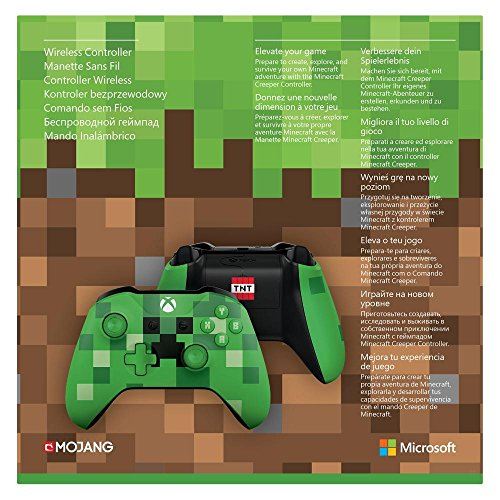 Official xbox one wireless controller minecraft creeper amazon official xbox one wireless controller minecraft creeper amazon pc video games voltagebd Image collections