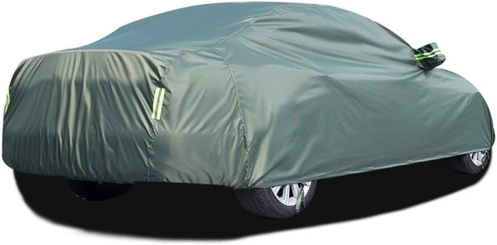 Car Cover Compatible with Fiat 124 Spider Car Cover Waterproof//Dustproof//Rainproof//Snowproof Anti-UV Durable Scratch Resistant Breathable Tarpaulin Canvas for All-Weather Outdoor Color : Black