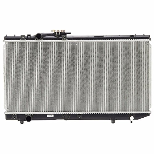 Klimoto Brand 1381 New Radiator For Toyota Paseo 92-95 Tercel 91-94 1.5 L4 (Toyota Replacement Radiator Tercel)