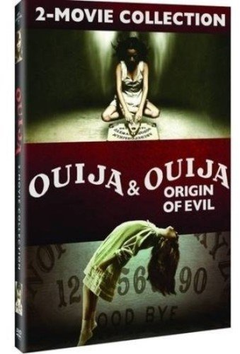 DVD : Ouija: 2-movie Collection (2 Pack, Snap Case, Slipsleeve Packaging, 2 Disc)