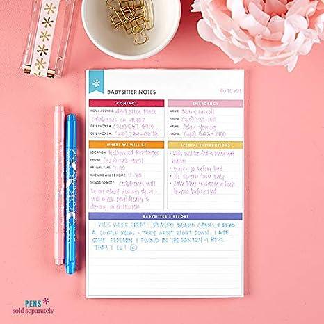 Amazon.com: Erin Condren Designer - Bloc de notas: Office ...
