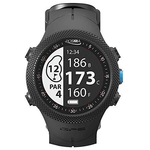 LYM Posma GB3 Golf Triathlon Sport GPS Watch Range Finder Smart GPS Watch for Running Cycling Swimming - Android iOS app (Best Golf Rangefinder App For Android)