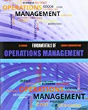 Fundamentals of Operations Management 1st Edition