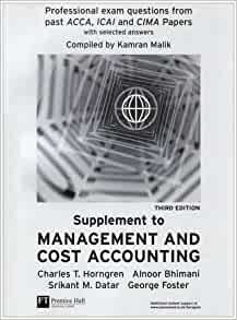 cost accounting exam questions and answers pdf