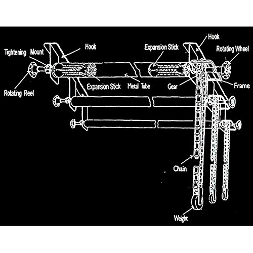 CowboyStudio Photography 3-Roller Wall Mounting Manual Background Support System by CowboyStudio