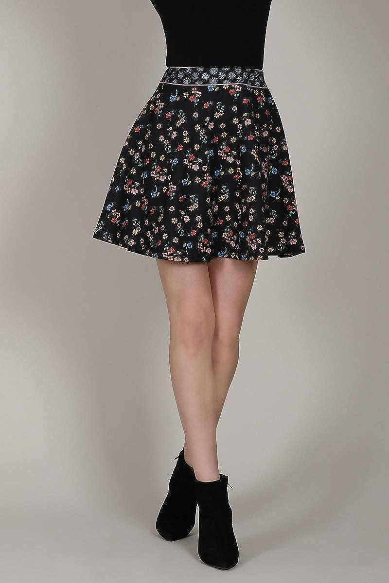 Molly - Mini Falda de Flores Boheme L: Amazon.es: Ropa y accesorios