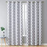 Best Thermal Curtains - HLC.ME Lattice Print Thermal Insulated Room Darkening Blackout Review