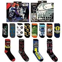 12-Pack 12 Days of Socks Men's Star Wars Socks