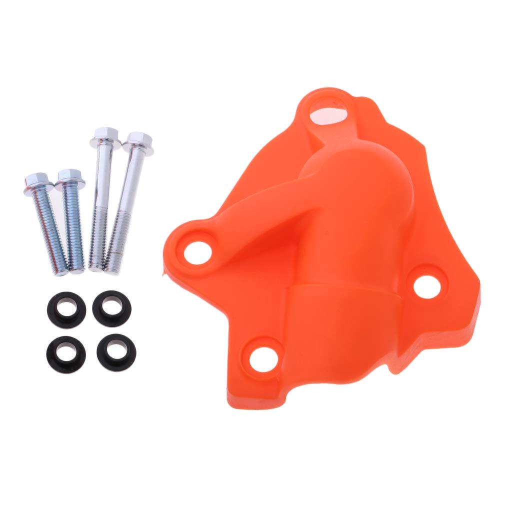 Sharplace 1 pc Protector Tapa de Bomba de Agua C/árteres Accesorios de Motos Durable