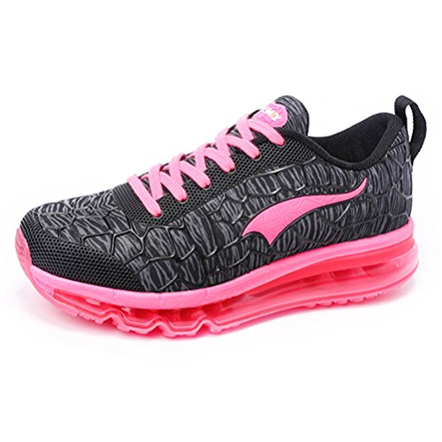 YiDiar Women's Air Cushion Running Shoes Lightweight Gym Outdoor Athletic Sport Sneakers (Gts 8 Boots)