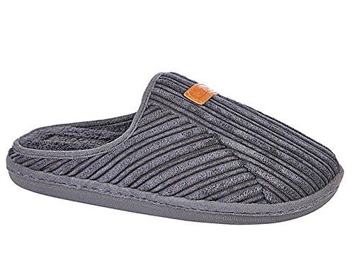 Foster Footwear , Herren Hausschuhe Grau
