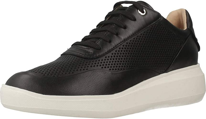 Ejecutar Hervir Ajuste  Geox Women's D Rubidia A Low-Top Sneakers: Amazon.co.uk: Shoes & Bags