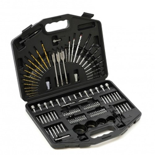 125PC Master Drill Bit Set Metal Working and Multipurpose Drill Bit Sets