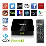 2017 New Arrivals BestoU M9S TV BOX Fully Loaded NEWEST KODI 16.1 Quad Core Android Smart Set Top TV Box with Blue Tooth