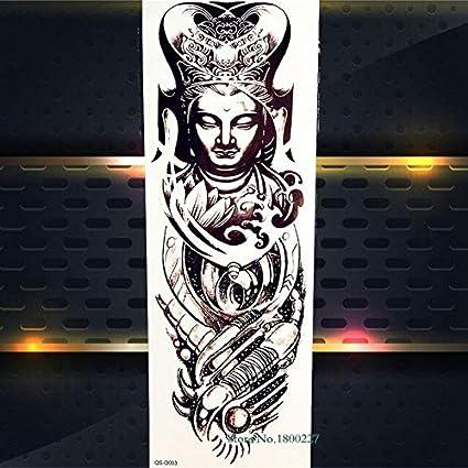 HXMAN Gran Brazo Completo Flash Temporal Tatuaje Pegatina ...