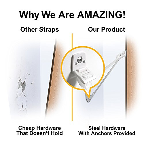 ELLA'S Proven Furniture Straps - A Safer Home or 100% of Your Money Back