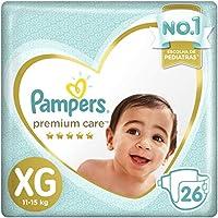Até 40% off em Fraldas Pampers Premium Care M, G, XG e XXG