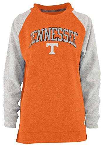 Pressbox Tennessee Vols Heidi Terrycloth Raglan Pullover-Large by Press Box