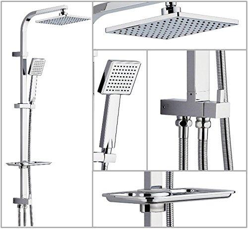 Ds 72 Quadro Regendusche Duschset Duschpaneel Duschsäule Duschsystem Kopfbrause