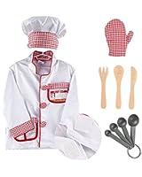iPlay, iLearn Chef Role Play Costume Set, Halloween costume (3-6 Years)