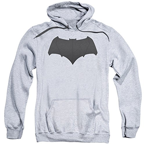 Trevco Men's V Superman Batman Logo Adult Hooded Sweatshirt at Gotham City Store