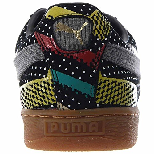 Puma Suede BHM Statement Men Round Toe Synthetic Sneakers Black ZrGYNUAmEa