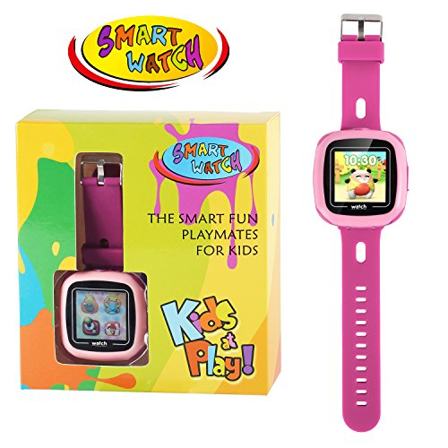 Kids Game Smart Watch - Symfury Smartwatch for Boys Girls Toddler with Pedometer Camera Alarm Clock Stopwatch 1.5'' Touch GPS Activity Fitness Tracker Children Sports Watches Learning Toys 3-12 Years by Symfury (Image #6)