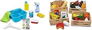 Melissa & Doug Spray, Squirt & Squeegee & Food Groups