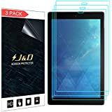 [3-Pack] All-New Fire HD 10 Tablet (2017) Screen Protector, J&D Premium HD Clear Film Shield Screen Protector for All-New Amazon Fire HD 10 Tablet (Release in 2017)