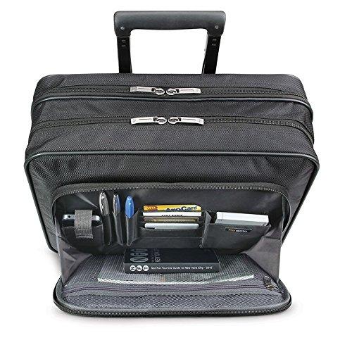 Solo Carnegie 15.6 Inch Rolling Laptop Case, Black by SOLO (Image #3)