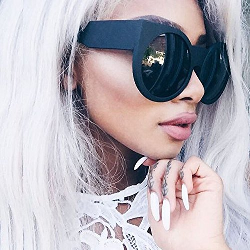 Round Cat Eye Oversized Sunglasses Thick Vintage Style Frame Women - Buy That Sunglasses Stores