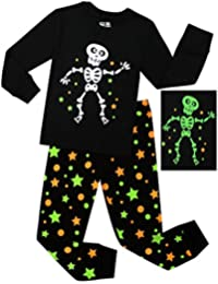 Little Boys Pirate Ship Pajamas Children Halloween and...