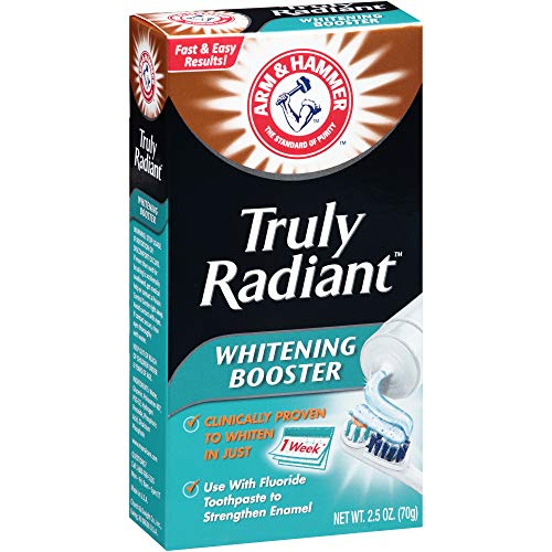 Arm and Hammer Teeth Whitening Booster Toothpaste - 2.5 Oz (Pack of 3)