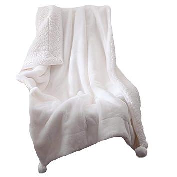 Amazon.com: Vesna - Manta de piel sintética, suave, suave y ...