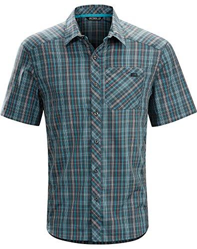 Arcteryx Peakline SS Shirt - Men's Graphite Large
