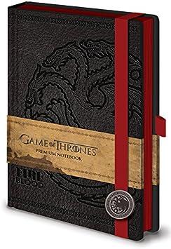 Game of Thrones SR71898 Targaryen - Cuaderno A5, diseño de Juego de Tronos: Amazon.es: Juguetes y juegos