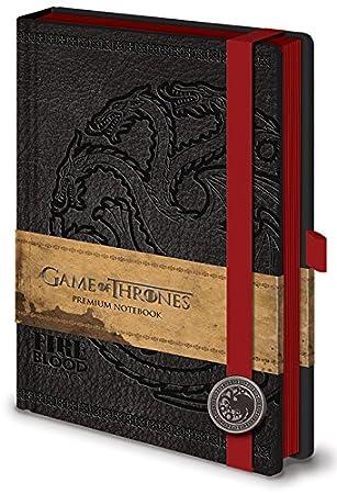 Game Of Thrones SR71898 Targaryen - Cuaderno A5, diseño de Juego de Tronos