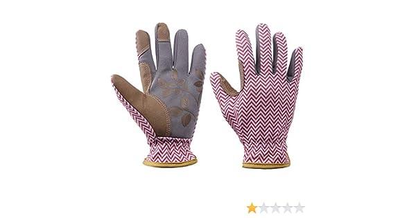 Guantes de jardinería para mujer, guantes de poda de rosas a ...