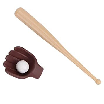 Mootea Dollhouse Baseball Toy, 1/12 Miniatura Dollhouse Baseball ...