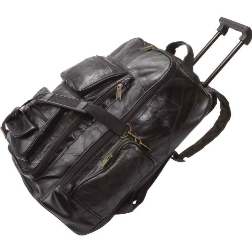 Embassy Leather Rolling Back Pack