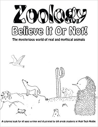 Zoology Believe It Or Not!: A Coloring Book Of Real And Mythical ...