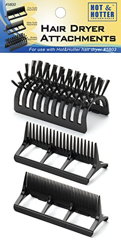 Amazon Com Gold N Hot 2pc Offset Comb Attachment For