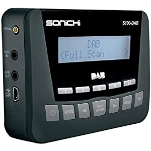 sonichi s100 digital car dab radio adaptor fm. Black Bedroom Furniture Sets. Home Design Ideas