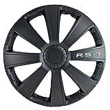 15 inch Black RST Wheel Cover Kit - 4 Pack