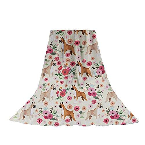 lk Long Scarves Boxer Flower Print Headscarf Sunscreen Shawl Beach Sarong ()