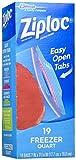 ziploc vacuum bags quart - Ziploc Freezer Bags - 1 qt - 19 ct