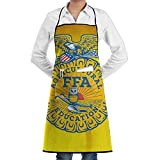 National FFA Organization Bib Apron With Convenient Pockets For Women And Men