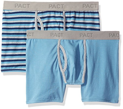 Organic+cotton+underwear Products : PACT Men's 2-Pack Organic Cotton Boxer Brief
